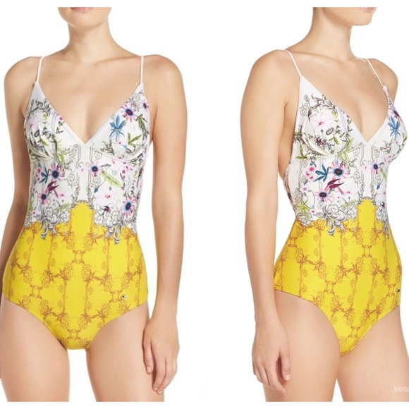 2976d5fa05f49 ... Passion flower One Piece Swimsuit NWT · Ted Baker.  M_5ae8f8b8a6e3ea5ea082969b. M_5ae8f8b845b30c746a2891eb